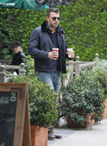 Ben Affleck carried some caffeinated drinks.