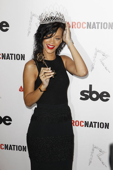 Rihanna held a key to the city.