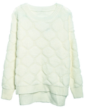 Doesn't this Magyars diamond lattice creamy-white jumper ($58) remind you of a honeycomb? Adorable.