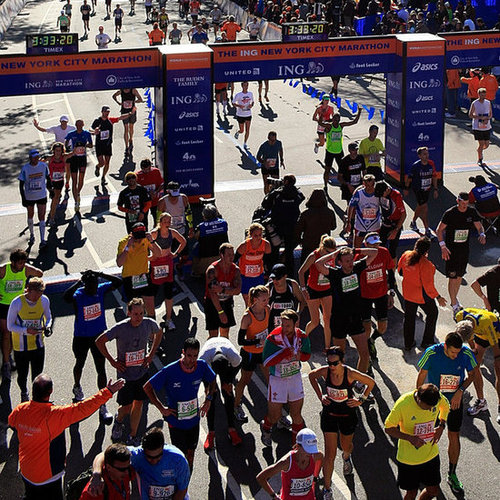 New York City Marathon Being Held After Hurricane Sandy