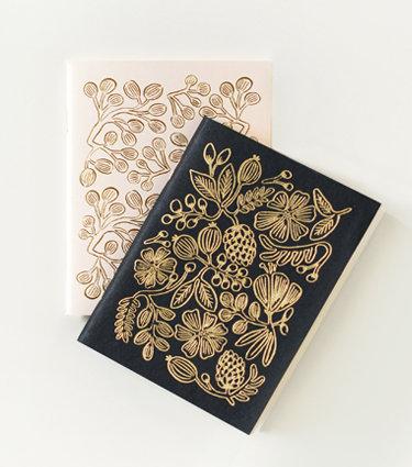 Gold Foil Pocket Notebooks