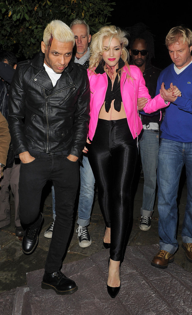Gwen Stefani and Tony Kanal