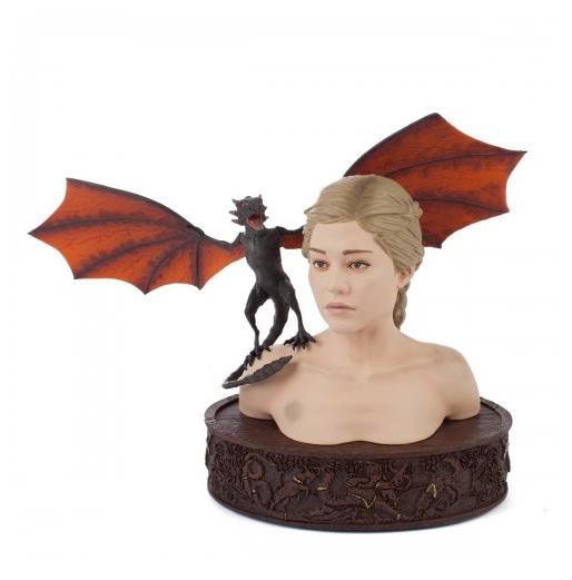 Daenerys & Drogon Collectible Bust ($125)