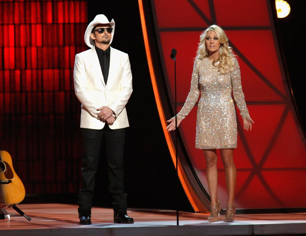 Carrie Underwood and Brad Paisley were in Nashville for the Country Music Association Awards.