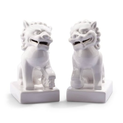 Foo Dogs Bookends