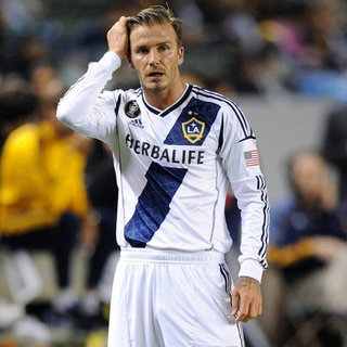 David Beckham Playing the Vancouver Whitecaps in LA