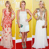 Taylor Swift, Carrie Underwood &amp; Hayden Panettiere CMA Style