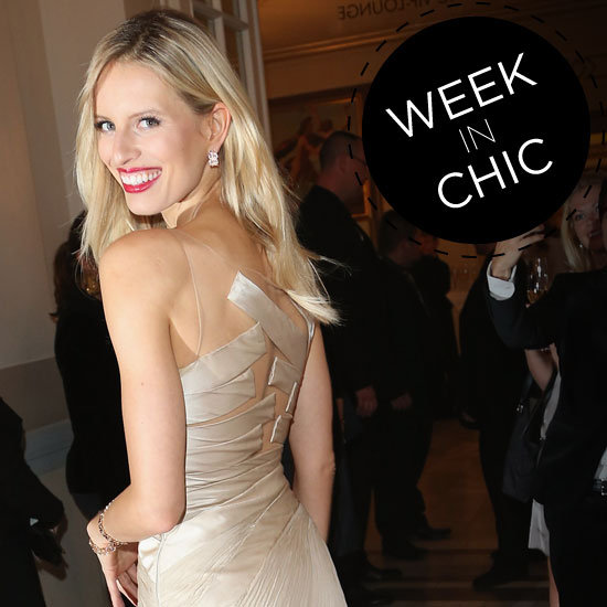 A Week in Chic: Karolina Kurkova