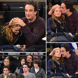 Mary-Kate Shows Serious Courtside PDA With Boyfriend Olivier
