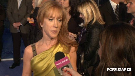 Video: Kathy Griffin Wishes She Were Bella Stuck Between Robert Pattinson and Taylor Lautner!