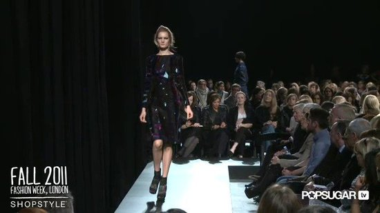 Erdem Fall 2011 Collection London Fashion Week