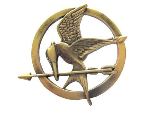The Hunger Games Mockingjay Pin ($13)