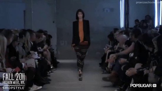 Proenza Schouler Runway Fall 2011 New York Fashion Week