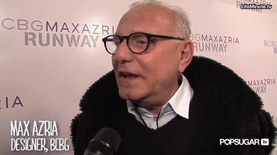 FabSugarTV: Interview With BCBG's Max Azria at New York Fashion Week Fall 2011