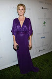 Julie Bowen shimmered in a purple sequined gown by Naeem Khan.