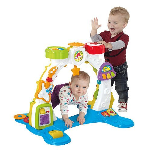 For Infants: Playskool Rocktivity Sit, Crawl and Stand Band Activity Arch