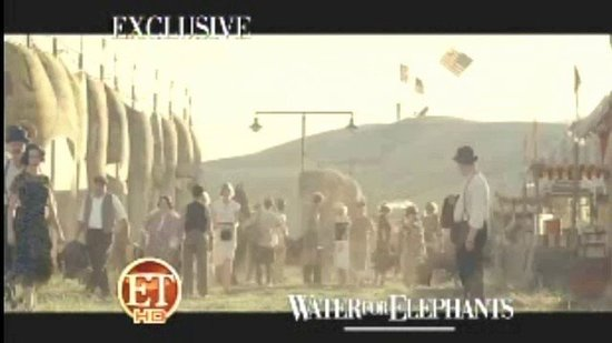 New Teaser Video of Robert Pattinson in Water For Elephants!