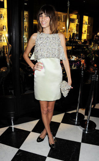 All smiles at the British Fashion Awards in December 2011.
