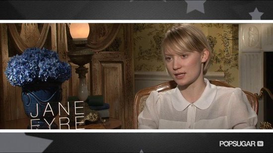 Mia Wasikowska Knows She's Lucky to Continue Her Hot Costar Streak in Jane Eyre