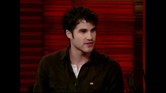 Glee's Darren Criss Reveals His Pre-Blaine Hairdo, Announces Warblers Album!