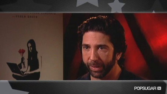 Video: David Schwimmer on Becoming a Dad and Bringing an Important Cause Close to the Big Screen