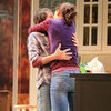 Katie Holmes Kissing Her Costar on Stage | Pictures