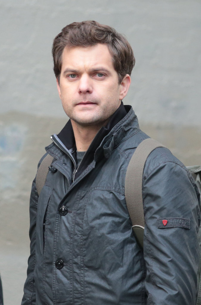 Joshua Jackson got serious for a scene.