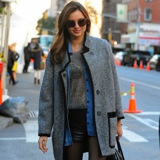 Miranda Kerr at Victoria's Secret Fashion Show Rehearsals