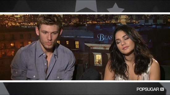Video: Alex Pettyfer and Vanessa Hudgens Share Playful Banter For Beastly!