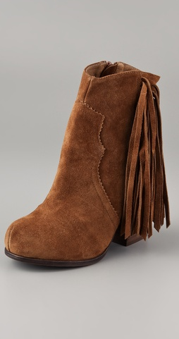 For a boho spin on your everyday look, look to these Jeffrey Campbell Prance Fringed Boots ($165).
