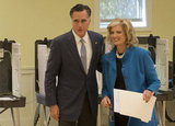 Mitt and Ann shared in Election Day excitement together.