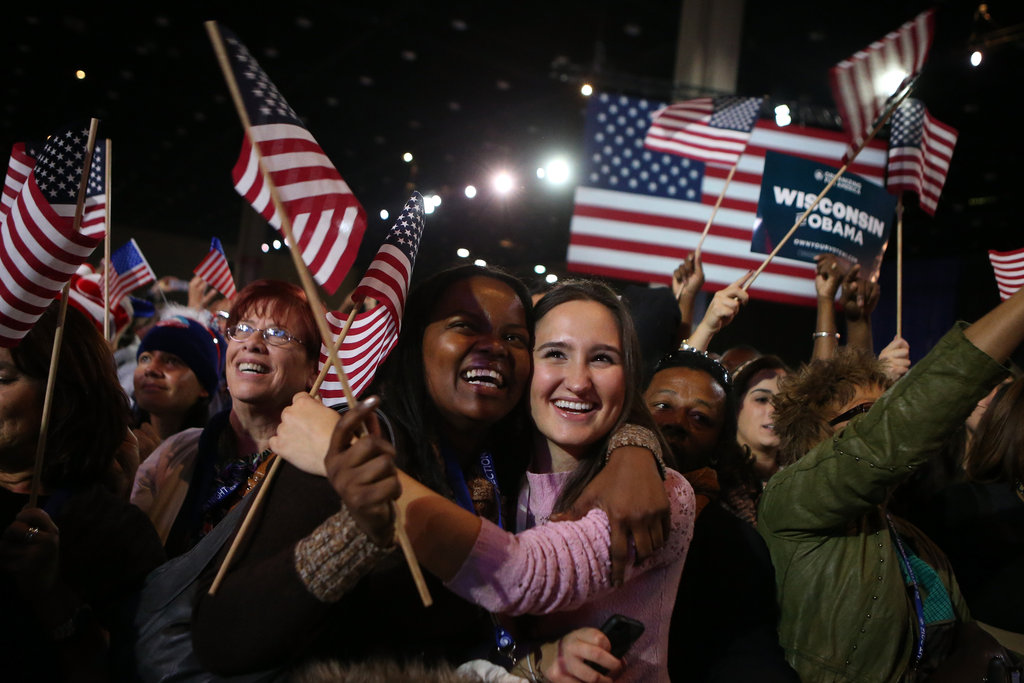 President Obama Wins! See Pictures of His Celebratory Event in Chicago