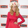 Delta Goodrem in Dior Pictures at 2012 Melbourne Cup