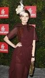 Mischa Barton Strikes a Pose in Plum as Emirates' Melbourne Cup Guest