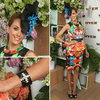 Rebecca Judd in Nicola Finetti at the 2012 Melbourne Cup