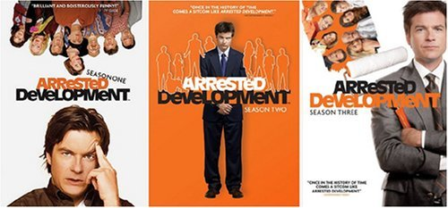 Arrested Development: The Complete Series DVDs ($90)