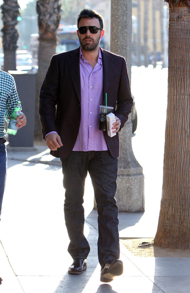 Ben Affleck was out and about in LA.