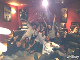 "Eva Longoria posted a photo with the caption, ""Me and my friends celebrating! I'm on tears! Moving the country forward! Obama!""  Source: Eva Longoria on WhoSay"