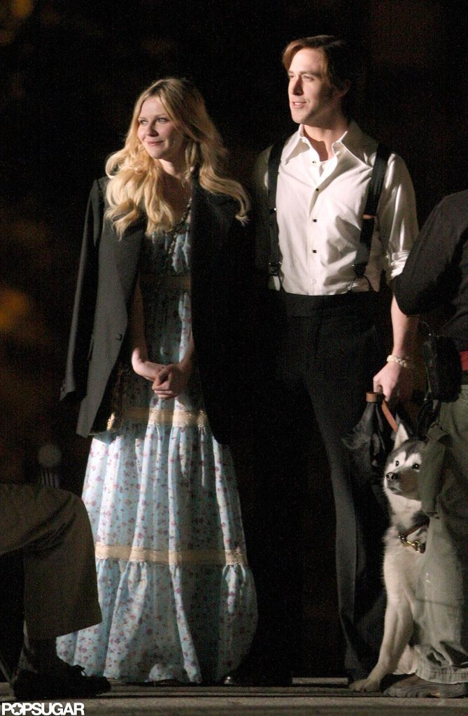 Ryan Gosling and Kirsten Dunst shot All Good Things together in New York in May 2008.