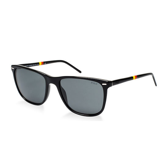 Sunglasses, $290, Polo Ralph Lauren at Sunglass Hut. Ph: 1800 556 926