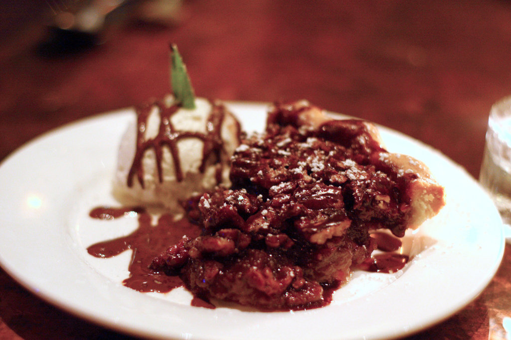 Chocolate Pecan Pie and Vin Santo