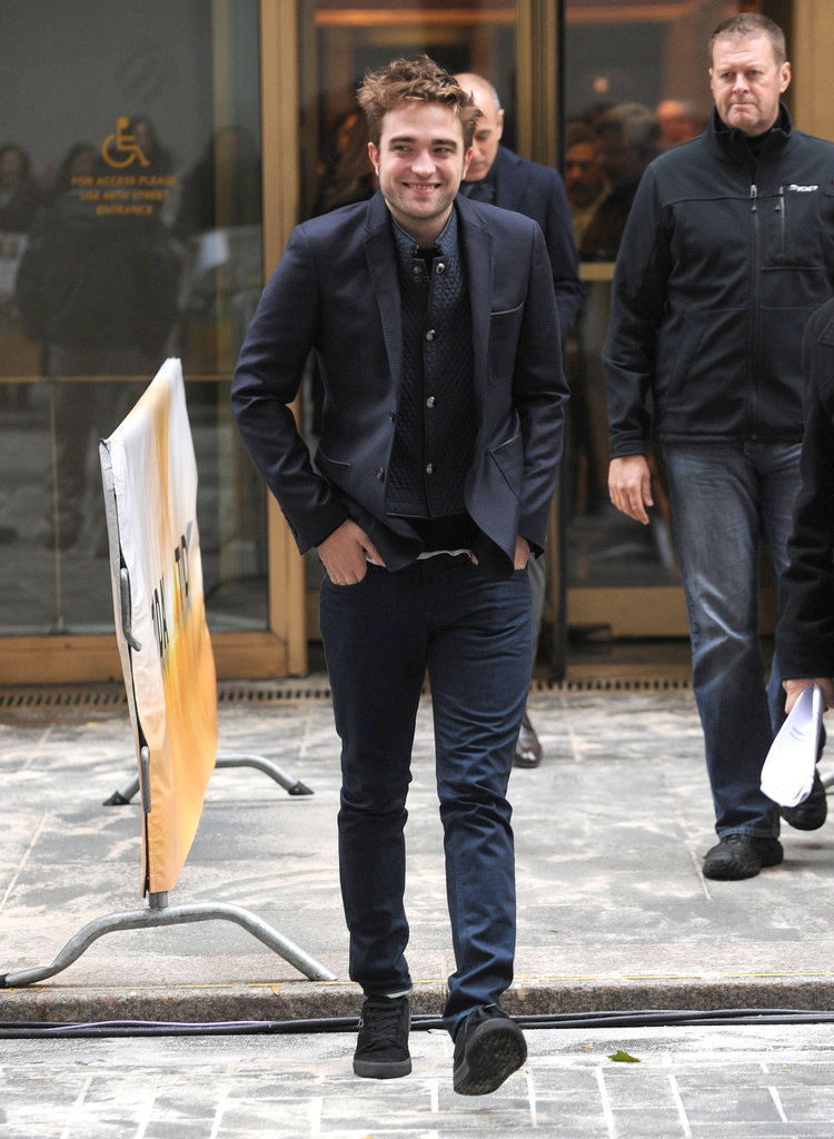 Robert Pattinson stepped out in NYC.
