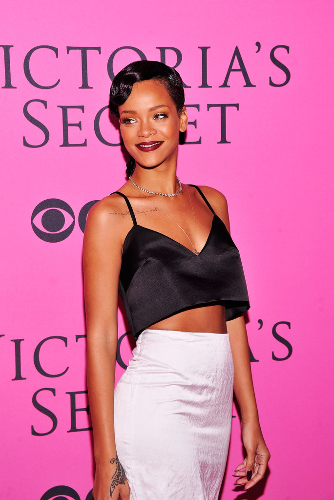 Rihanna attended the Victoria's Secret Fashion Show after party in NYC.