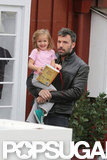 Seraphina Affleck had a laugh with dad Ben Affleck in LA.