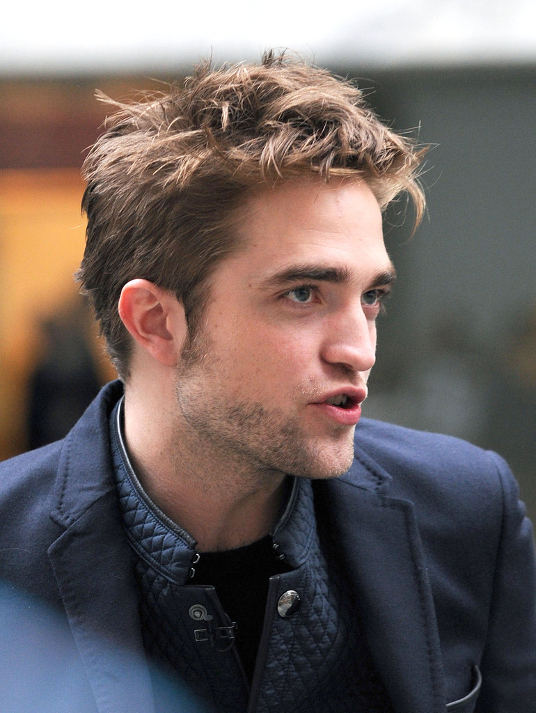 Robert Pattinson was in NYC to promote Breaking Dawn —Part 2.
