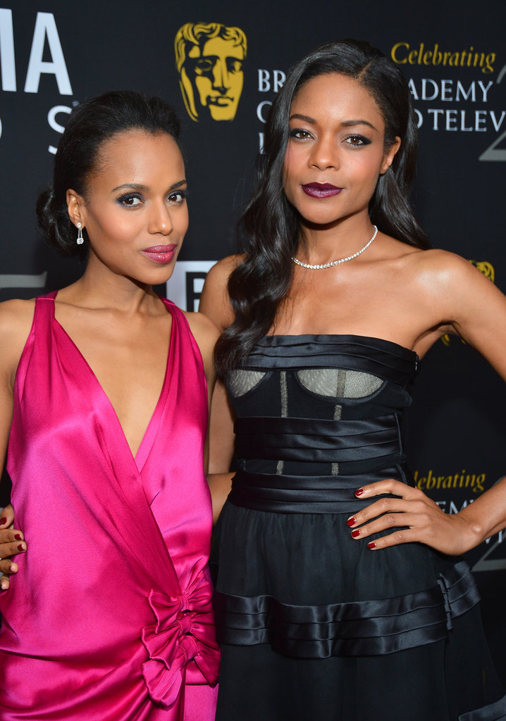 Kerry Washington and Naomie Harris hit the red carpet.