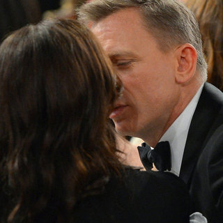 Daniel Craig and Rachel Weisz PDA Pictures at BAFTA LA
