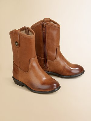 Frye Melissa Leather Cowboy Boots