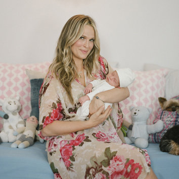 Molly Sims Shares Baby Brooks Blue Nursery
