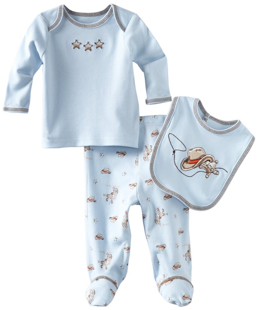 Little Me Newborn Cowboy Set